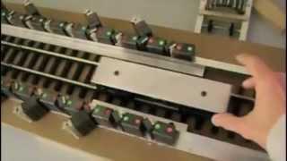 getlinkyoutube.com-Replication of Howard Johnson's most famous linear magnetic motor.
