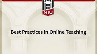 getlinkyoutube.com-Best Practices in Online Teaching
