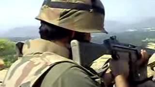 Capitan Fayyaz shaheed Live Footage from Swat Operation Rahe Rast. Pak Army Live War. Rear Video. width=