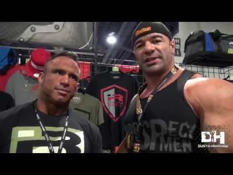 Dusty Hanshaw at Iron Rebel 2015 Olympia Expo