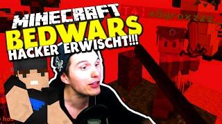 getlinkyoutube.com-HACKER ALARM! NO KNOCKBACK - MITTEN IN DER AUFNAHME ERWISCHT! ✪ Minecraft Bedwars Woche Tag 76