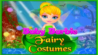 getlinkyoutube.com-♡ Baby Barbie - Tinkerbell Fairy Costumes Magical Dress Up Video Game For Children