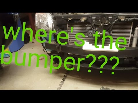 How To: Remove Front Bumper Cover