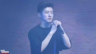 getlinkyoutube.com-151205 iKON Shanghai Fanmeeting - 솔직하게 (Hanbin Focus)