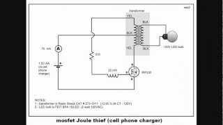 getlinkyoutube.com-Joule thief   using mosfet