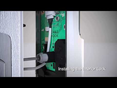 Yale Real Living Key Free Touchscreen Deadbolt Installation