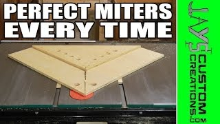 getlinkyoutube.com-PERFECT Miters With A Table Saw Miter Sled - 145