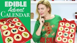 getlinkyoutube.com-Cookie Christmas Calendar w/ Jolly Rancher Stained Glass & Candy Surprise Inside