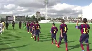 getlinkyoutube.com-【WOWOW】 U-12ジュニアサッカーワールドチャレンジ2014    FCバルセロナ 準決勝・決勝ダイジェスト