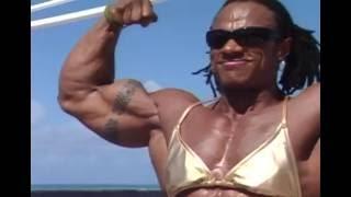 getlinkyoutube.com-Renne Toney - The Most Muscular Woman On Planet