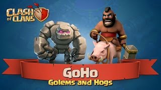 getlinkyoutube.com-How to GoHo at Town Hall 8 -- Clash of Clans 3 Star Attack Strategy
