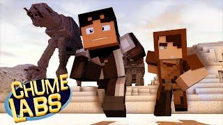 getlinkyoutube.com-Minecraft: VISITAMOS STAR WARS! (Chume Labs 2 #21)