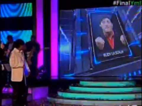 El ganador de la segunda temporada de Yo me llamo #ecuador es RUDY LA SCALA #Ymll2