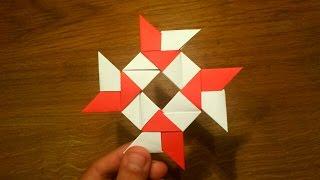 getlinkyoutube.com-How To Make a Paper 8-pointed Ninja Star - Origami Shuriken