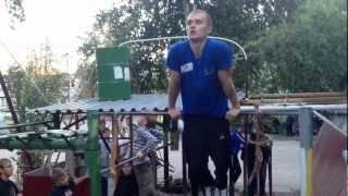getlinkyoutube.com-75 muscle ups / 75 выходов на две руки. Deny Montana