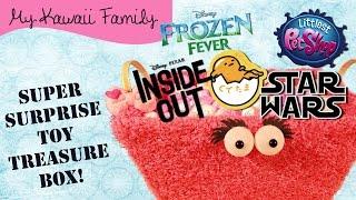 getlinkyoutube.com-Super Surprise TOY Treasure Box Ep8! Inside Out, Gudetama, Littlest Pet Shop, Frozen
