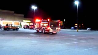 getlinkyoutube.com-Blue Ridge, VA - Commercial Structure Fire - Food Lion - Onscene - 9/17/14