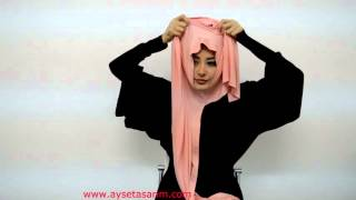 getlinkyoutube.com-Tesettür Ve Moda - Hazır Türban Ve Şal Bağlama - Hijab Tutorial for Ready to Wear Hijab and Shawls