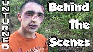 getlinkyoutube.com-BEHIND THE SCENES! - The Forest: Unturned Ep. 2