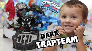 getlinkyoutube.com-Skylanders Trap Team Dark Edition w/ Custom Portal (Starter Pack Unboxing by Chase)