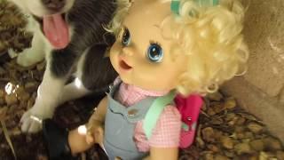 getlinkyoutube.com-BABY ALIVE Emily Ditches School! (School Series)