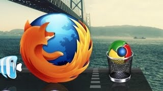 Firefox vs Chrome : 100 open blank tab