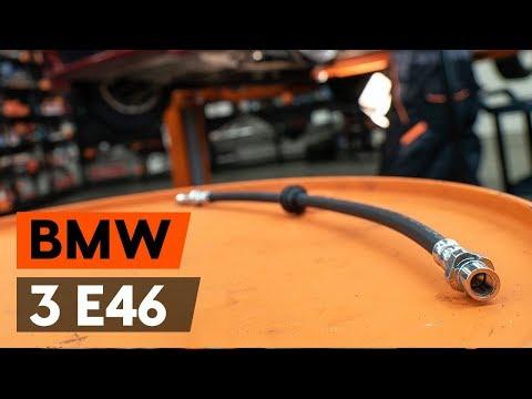 Как заменить тормозной шланг наBMW 3 (E46)(ВИДЕОУРОК AUTODOC)