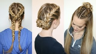 getlinkyoutube.com-3 Sporty Hairstyles | Missy Sue