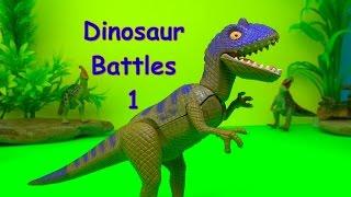 getlinkyoutube.com-Dinosaurs Dinosaur Battles Fights Series 1 T rex Tyrannosaurus 공룡 싸움 ไดโนเสาร์ SuperFunReviews