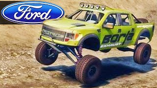 getlinkyoutube.com-Ford Raptor 4x4 - Spin Tires 2014