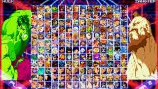 getlinkyoutube.com-Marvel vs Capcom 2 MUGEN - Free PC Game Download