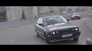getlinkyoutube.com-BMW M5 Street Drift! Giorgi Tevzadze(NeedForDrive.com) & Eric Davidovich(Smotra.ru) by zaRRubin