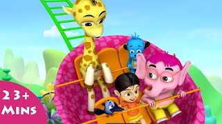 getlinkyoutube.com-Cheers for Fears ✿ Bommi & Friends ✿ Chutti TV | Tamil Moral Stories For Kids |3D Animation