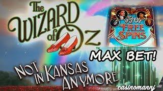 getlinkyoutube.com-MAX! - NOT IN KANSAS ANYMORE SLOT - *NEW* - Nice WIN!!! - FREE SPINS! - Slot Machine Bonus