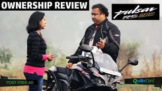 Pulsar RS 200 Ownership Review | Buyer's Guide | QuikrCars