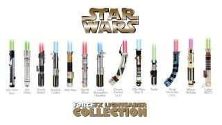 getlinkyoutube.com-Star Wars Master Replica & Hasbro Lightsabers