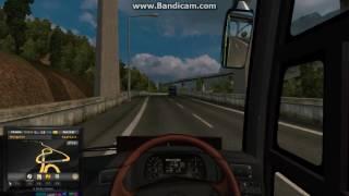 ETS 2 Kelok sembilan Bus ALS Sumatera Barat