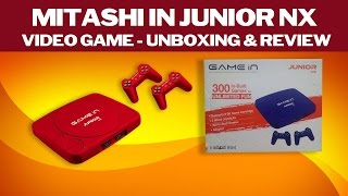 Mitashi In Junior NX Video Game - (Unboxing & Review)