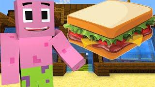 getlinkyoutube.com-Minecraft : Spongebob Episode 11 - PATRICK'S SANDWICH (Minecraft Roleplay)