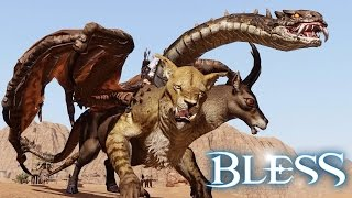 Bless The Blazing Fire - Taming New Mounts Gameplay & Random Flying