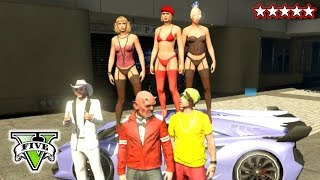 getlinkyoutube.com-GTA 5 PIMPS & LADIES! | PIMPING A RIDE! GTA V | Ladies & Pimps Having A GTA Time