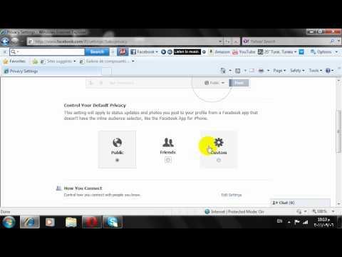حماية الخصوصية في الشكل الجديد للفيس بوك