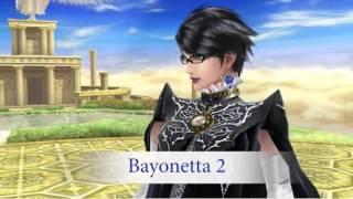 getlinkyoutube.com-Bayonetta Gameplay & Stage Breakdown! Super Smash Bros 3DS & Wii U