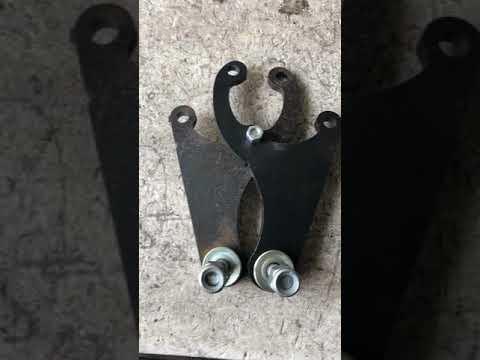 Кронштейны нижние для задних амортизаторов нива шнива