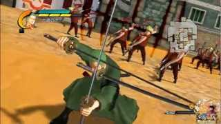 getlinkyoutube.com-One Piece Pirate Warriors 2 All Special Attacks