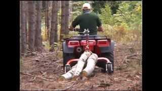 getlinkyoutube.com-Log Skidding & Tree Harvesting Equipment by Norwood Portable Sawmills