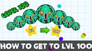 Agar.io | How to get unlimited levels / Level 0 -100 real quick! (2016 WORKING!)  | Tigar