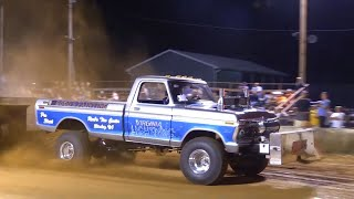 getlinkyoutube.com-6400 Pro Stock 4x4 Trucks Pulling at Berryville July 2 2016