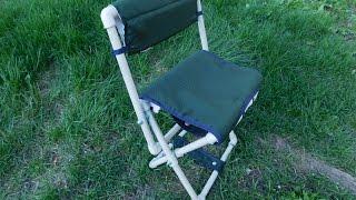 getlinkyoutube.com-Раскладной стульчик для рыбалки своими руками из полипропиленовых труб
