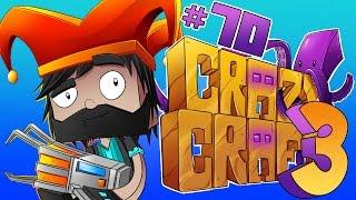 getlinkyoutube.com-I'M BATM-- A BAT-CHAIR?!?! [#70] | Minecraft Crazy Craft 3.0
